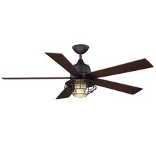 "Savoy House 52-624-5CN-13 - Hyannis 52"" Damp Location Ceiling Fan"