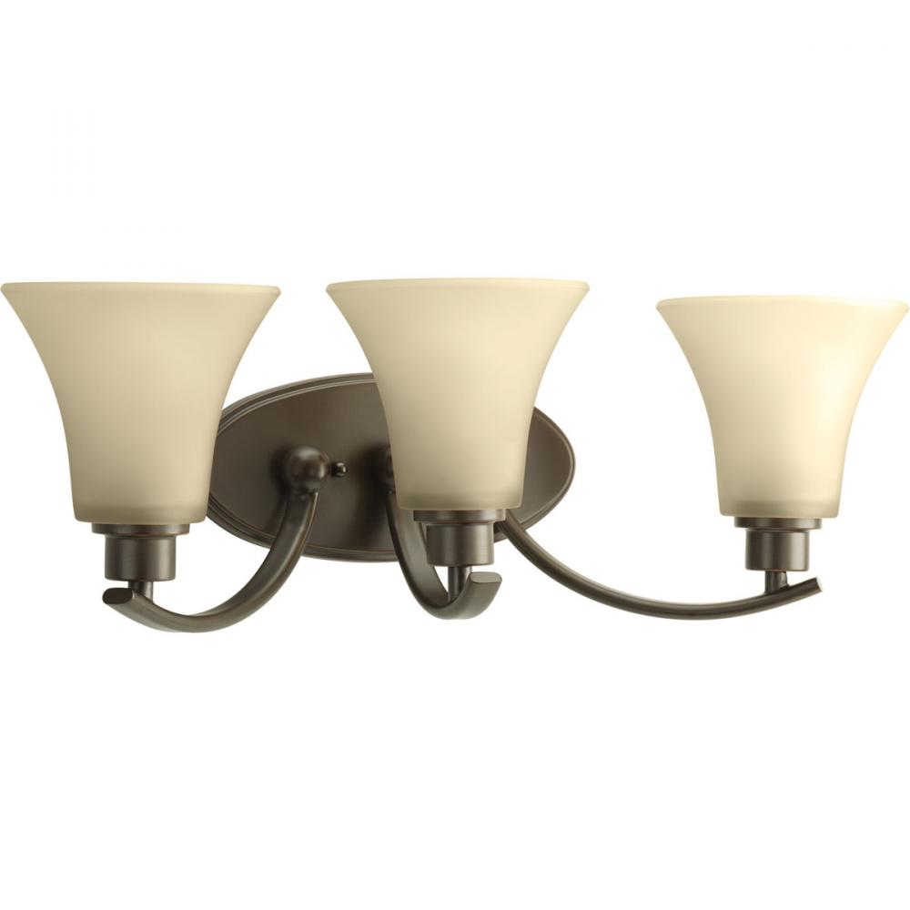 3-Lt. Antique Bronze Bath Light