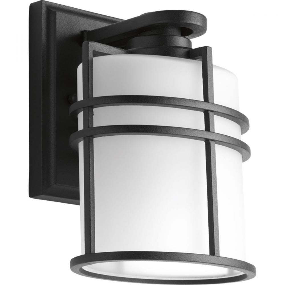 "6"" 1-Lt. wall lantern for outdoor applications."