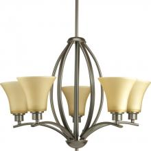 Progress P4490-20 - 9-Lt. Antique Bronze Chandelier