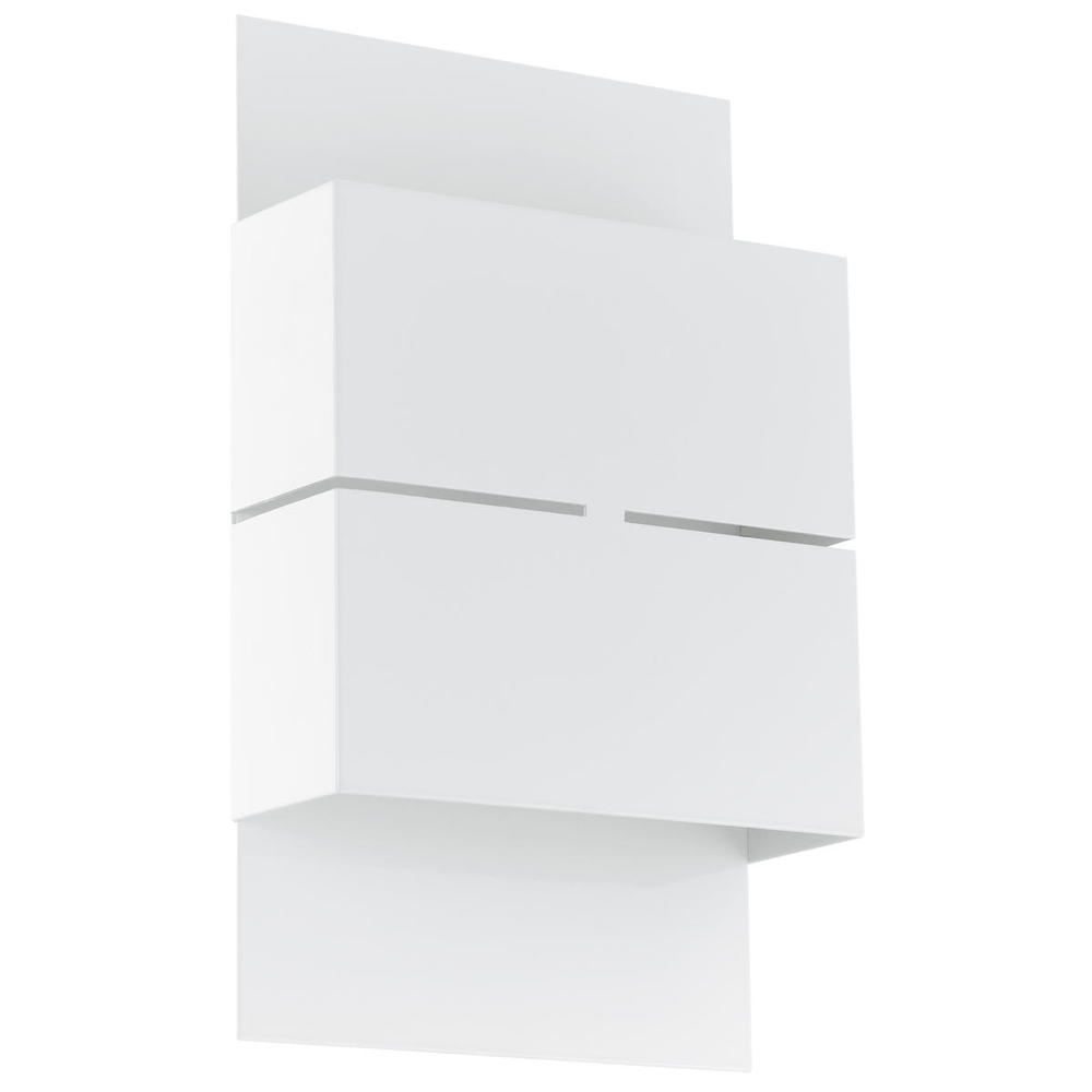 2x2.5 LED Outdoor Wall Light w/ White Finish