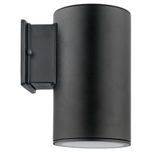 Eglo 200146A - 1x75W Outdoor Wall Light w/ Black Finish & Clear Glass