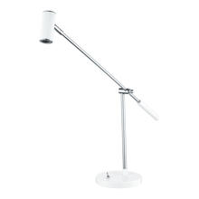Eglo 92515A - 1x2.38W LED Table Lamp  w/ Glossy White & Chrome Finish