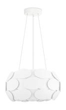 Eglo 92756A - 3x60w Pendant w/ White Finish