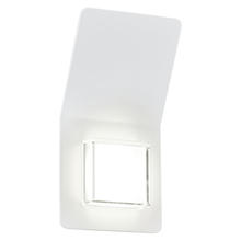 Eglo 93326A - 2x2.5W LED Outdoor Wall Light w/ White Finish