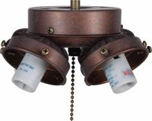 Volume Lighting V0964-22 - 4-light Prairie Rock Ceiling Fan Light Kit