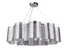 Craftmade 42020-CH - Sircle 10 Light Chandelier in Chrome