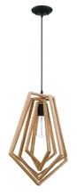 Craftmade 44592-ESP - Gem 1 Light Pendant in Espresso