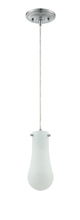 Craftmade P470CH-LED - LED Mini Pendant with Cord in Chrome