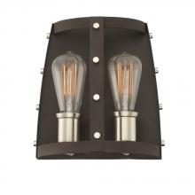 Designers Fountain 91602-RT - Presidio 2 Light Wall Sconce
