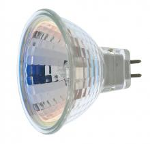 Satco Products Inc. S1956/TF - 20 watt; Halogen; MR16; BAB; 2000 Average rated Hours; Miniature 2 Pin Round base; 12 volts; Shatter