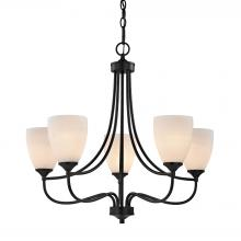 Elk Cornerstone 2005CH/10 - Arlington 5 Light Chandeier In Oil Rubbed Bronze