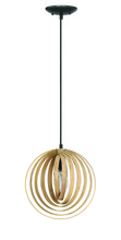 Jeremiah 41291-ESP - Cirq 1 Light Pendant in Espresso