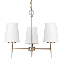 Sea Gull 3140403-848 - Three Light Chandelier