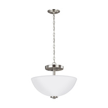 Sea Gull 77160-962 - Two Light Semi-Flush Convertible Pendant