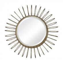 Sterling Industries 138-001 - Green Field Wire Frame Mirror in Gold Leaf