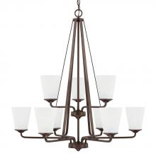 Capital 414191BZ-331 - 9 Light Chandelier