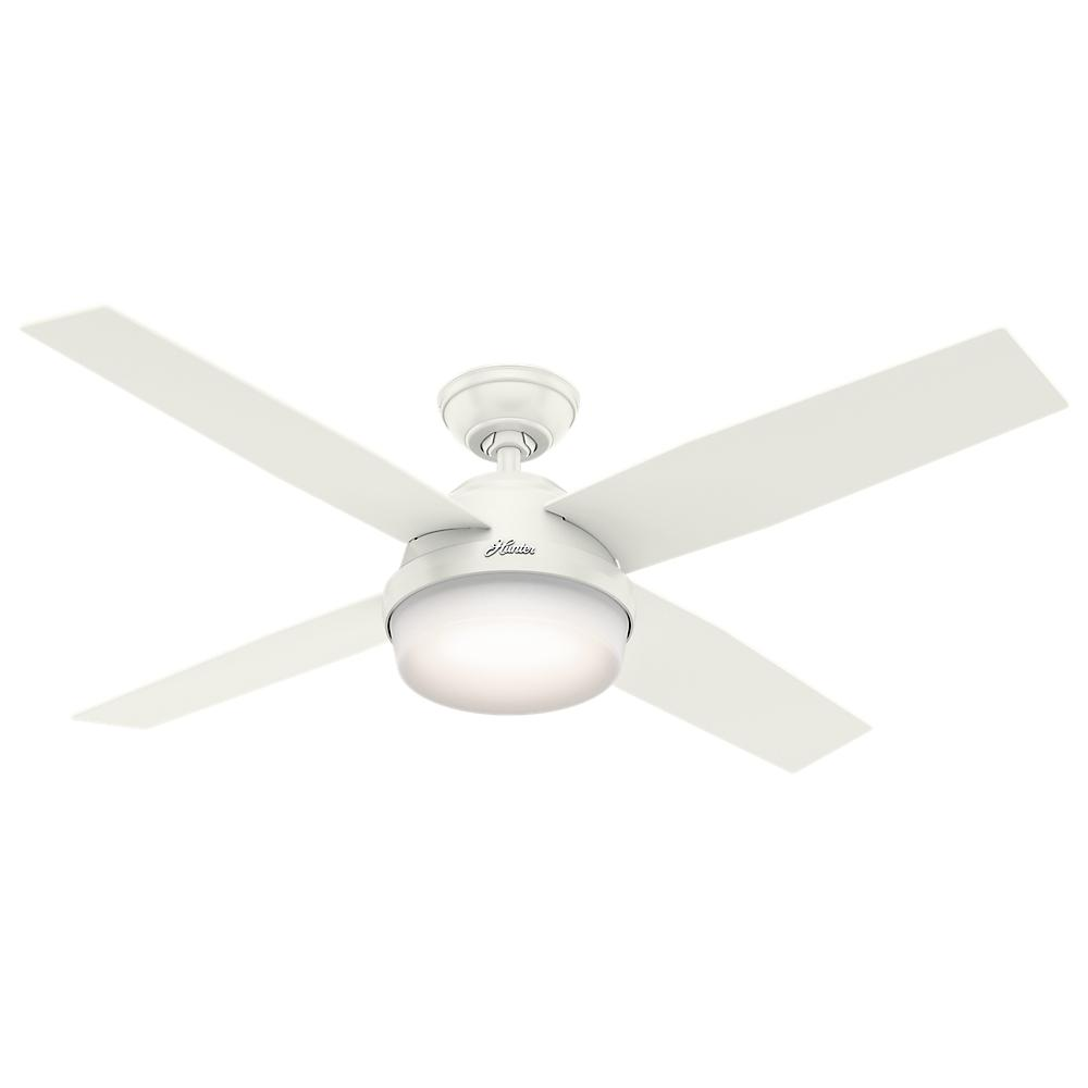 "52"" Ceiling Fan with Light with Handheld Remote"
