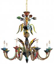 Minka Metropolitan C7056/8 - Multicolor Up Chandelier