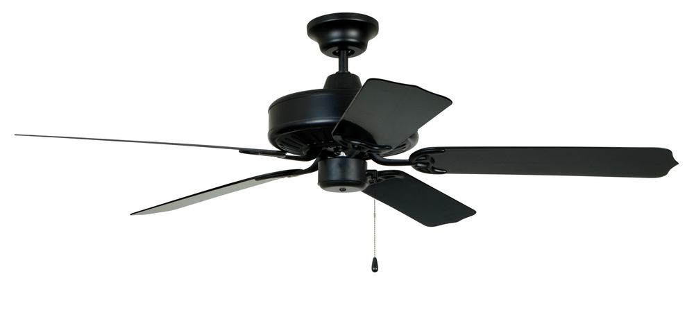 "Cove Harbor 52"" Ceiling Fan with Blades in Matte Black"