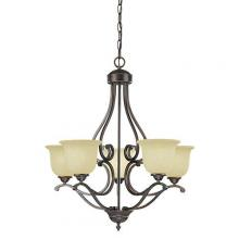 Millennium 1025-RBZ - Chandelier Ceiling Light
