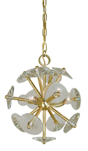 Framburg 4814 SP - 4-Light Satin Pewter Apogee  Mini Chandelier
