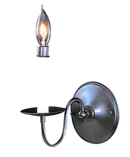 Framburg 9221 MB - 1-Light Mahogany Bronze Jamestown Sconce