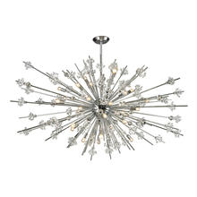 ELK Lighting 11754/31 - Starburst 31 Light Chandelier In Polished Chrome