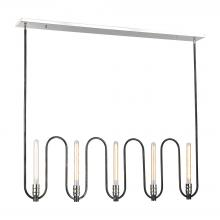 ELK Lighting 31905/5 - Continuum 5 Light Chandelier In Silvered Graphit