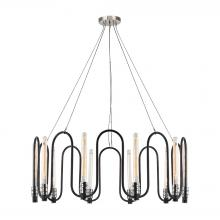 ELK Lighting 31908/10 - Continuum 10 Light Chandelier In Silvered Graphi