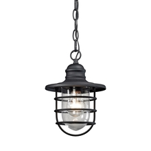 ELK Lighting 45213/1 - Vandon 1 Light Outdoor Wall Sconce In Charcoal