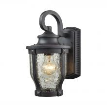 ELK Lighting 87070/1 - Milford 1 Light Outdoor Wall Sconce In Graphite