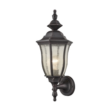 ELK Lighting 87080/1 - Bennet 1 Light Outdoor Wall Sconce In Graphite B