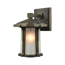 ELK Lighting 87090/1 - Brighton 1 Light Outdoor Wall Sconce In Smoked B